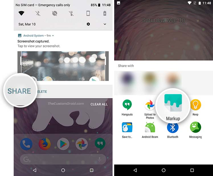 Use Google Markup App from Android P - 3