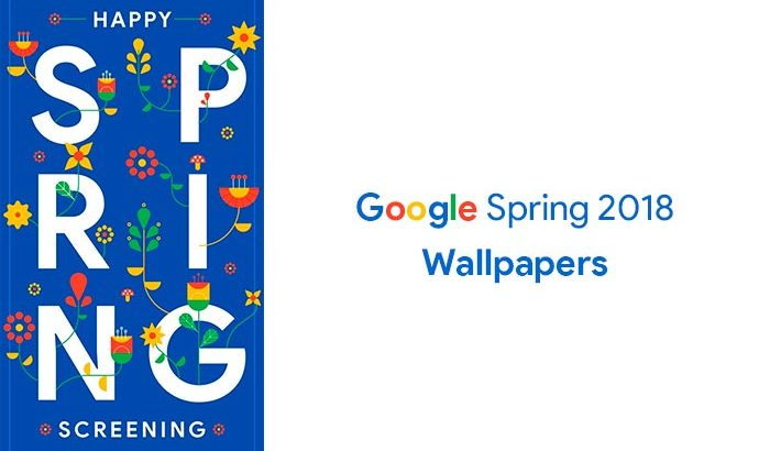 Download Google Spring 2018 Wallpapers
