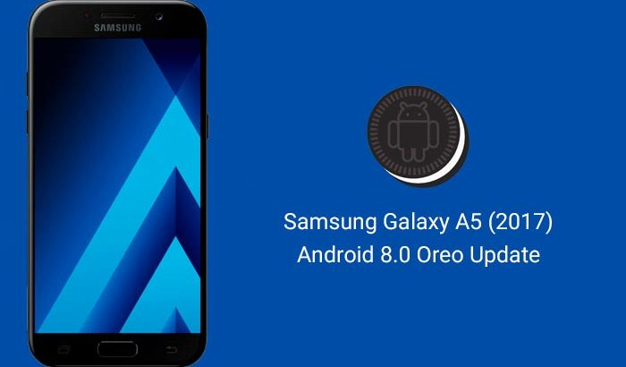 Galaxy A5 2017 Android 8.0 Oreo Update