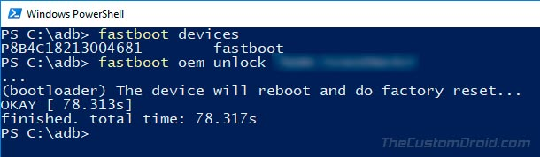How to Unlock Bootloader on Huawei P20 using Fastboot