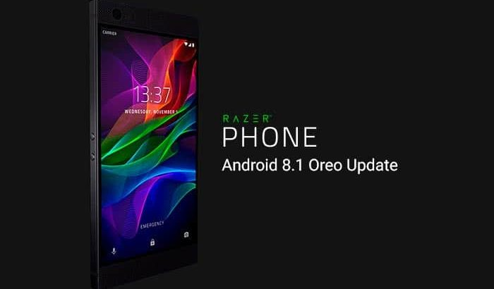 Razer Phone Android 8.1 Oreo Update Rolling Out Now