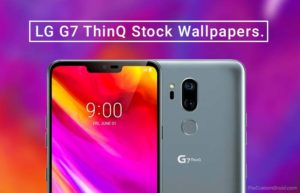 Download LG G7 ThinQ Stock Wallpapers