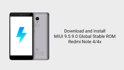 How to Install MIUI 9.5.9.0 Global Stable ROM on Redmi Note 4/4x