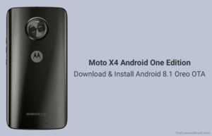 How to Install Android 8.1 Oreo on Moto X4 Android One Edition