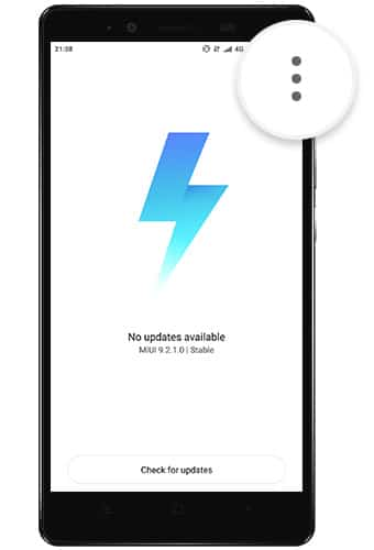 Install MIUI 9.5.9.0 Global Stable ROM on Redmi Note 4/4x using Updater App - 1