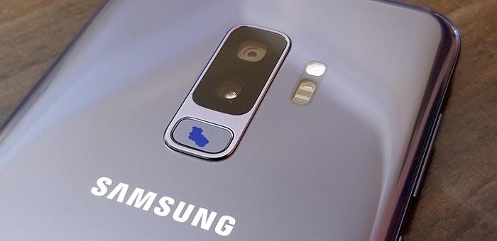 Samsung Galaxy S9 Fingerprint Sensor Chipping