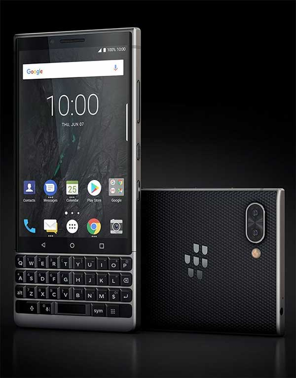BlackBerry Key2 Leaks Images - Evleaks - 1