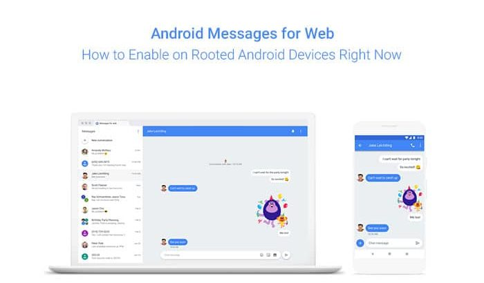 How to Enable Android Messages for Web Right Now
