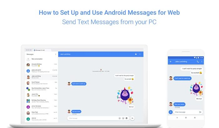 How to Set Up and Use Android Messages for Web