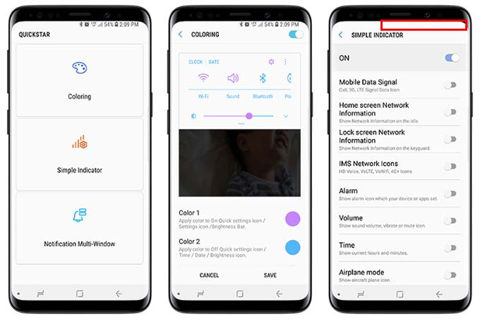 how to add additional apps to samsung s9 app bar