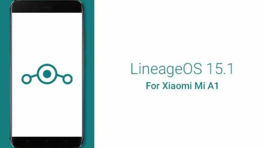 Download LineageOS 15.1 for Xiaomi Mi A1
