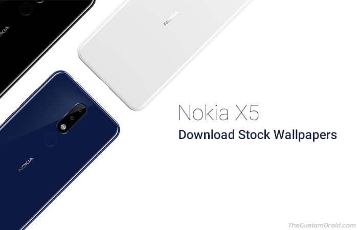 Download Nokia X5 2018 Stock Wallpapers