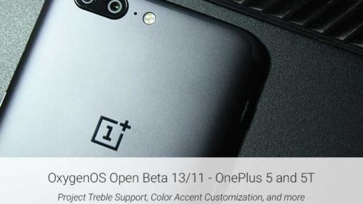 Download OxygenOS Open Beta 13/11 for OnePlus 5/5T