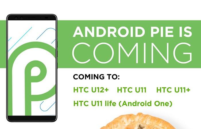 Android Pie Update for HTC U12+, HTC U11, HTC U11+, and HTC U11 Life Confirmed