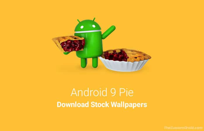 Download Android 9 Pie Stock Wallpapers