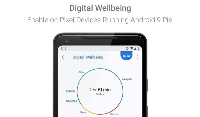 Enable Android 9 Pie Digital Wellbeing Feature on Google Pixel