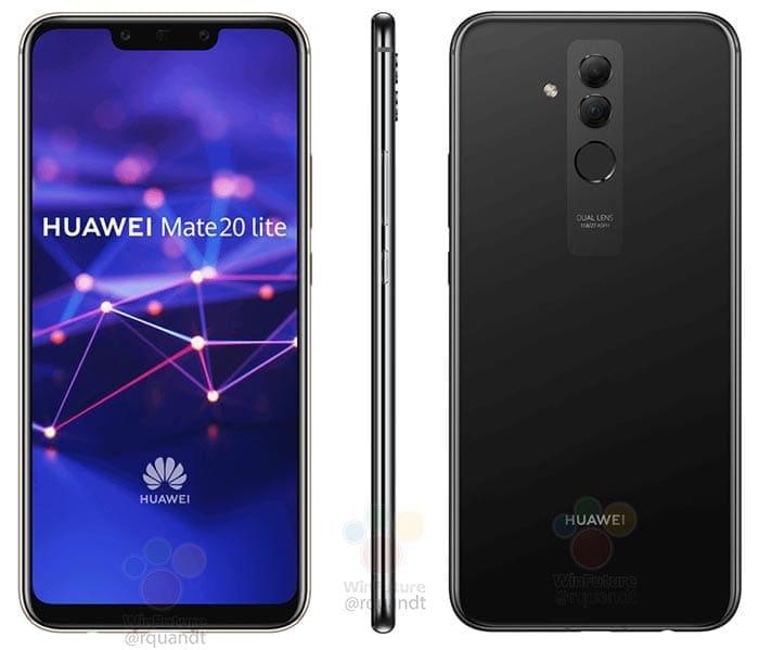 Huawei Mate 20 Lite - Design