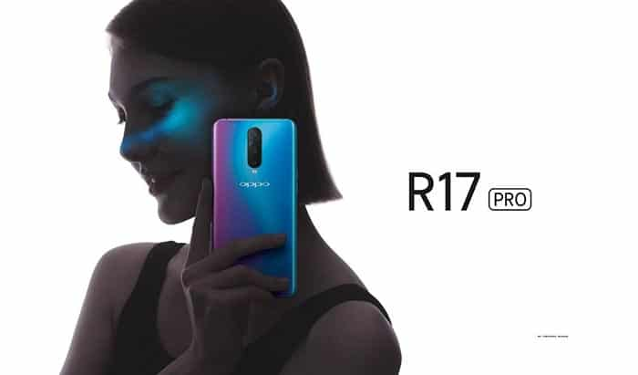 Oppo R17 Pro with Triple Camera Setup