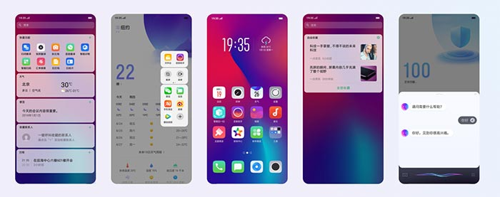 Oppo R17 Pro Software
