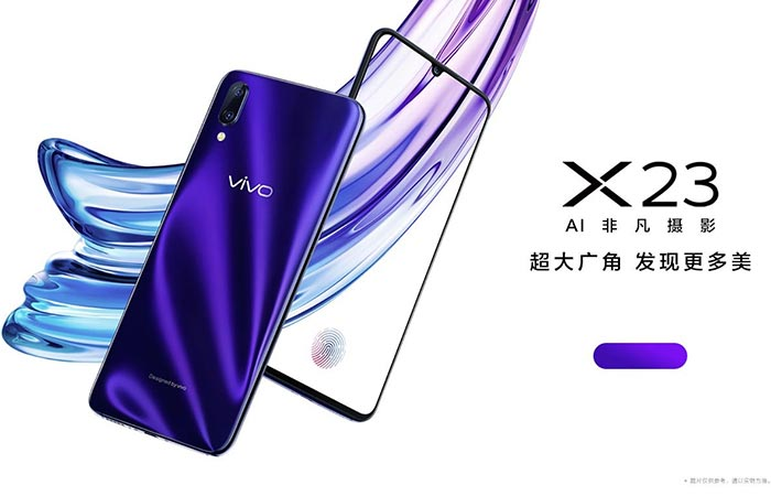 Vivo X23 Appears on Official Website - Specs & Official Images