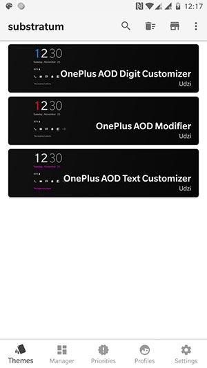 Customize Always-on Display on OnePlus 6/5T/5 - AOD Customizer Overlays