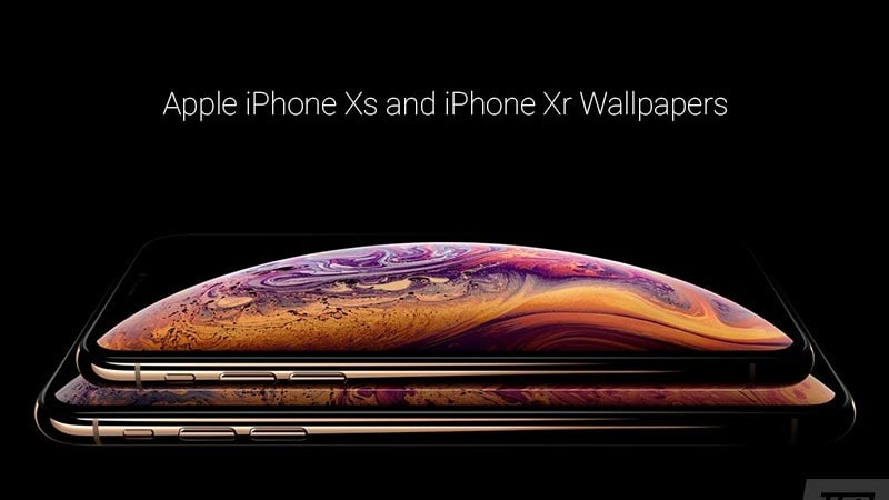 Download iPhone Xr and iPhone Xs Stock Wallpapers