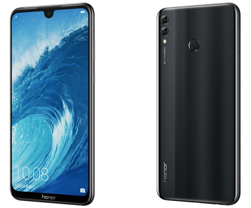 Honor 8X Max Design and Display
