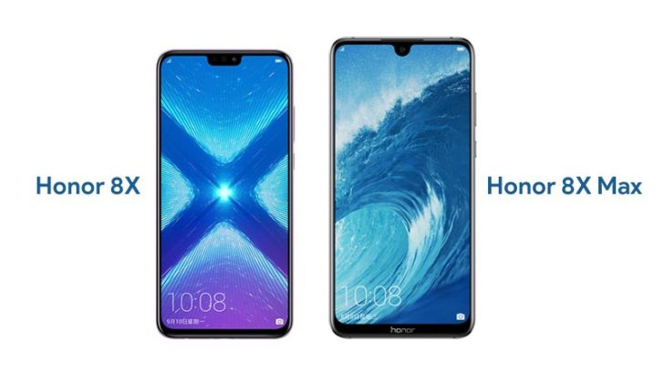 Honor 8X and Honor 8X Max Announced Officially