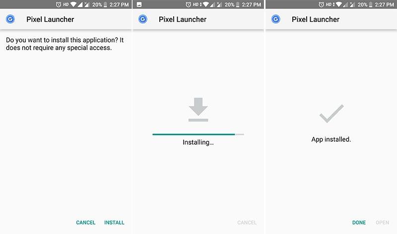 How to Install Google Pixel 3 Launcher APK