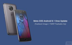 How to Install Moto G5S Android 8.1 Oreo Update