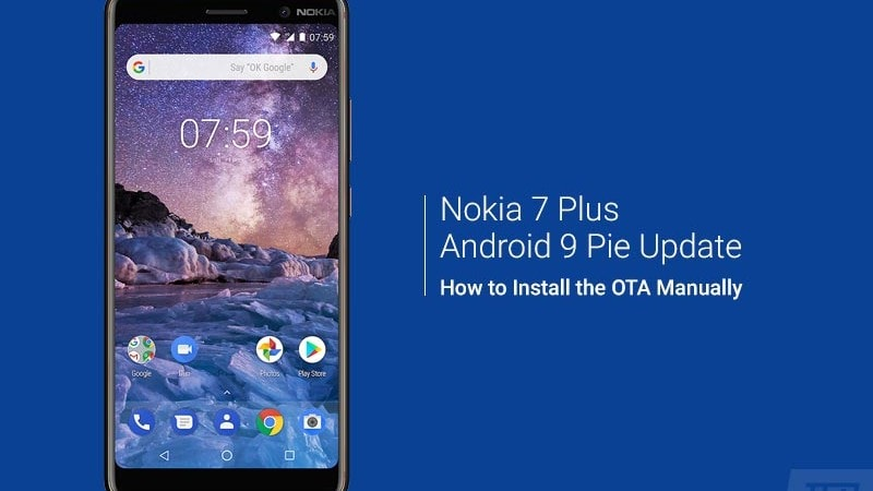 How to Install Nokia 7 Plus Android Pie Update (OTA)