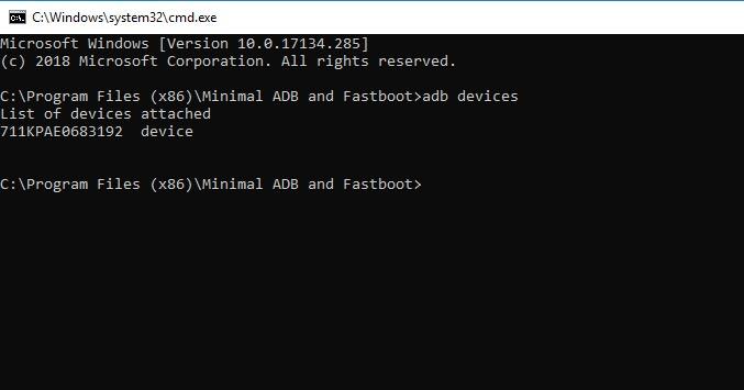 Install Minimal ADB and Fastboot Tool - Run Desktop Shortcut