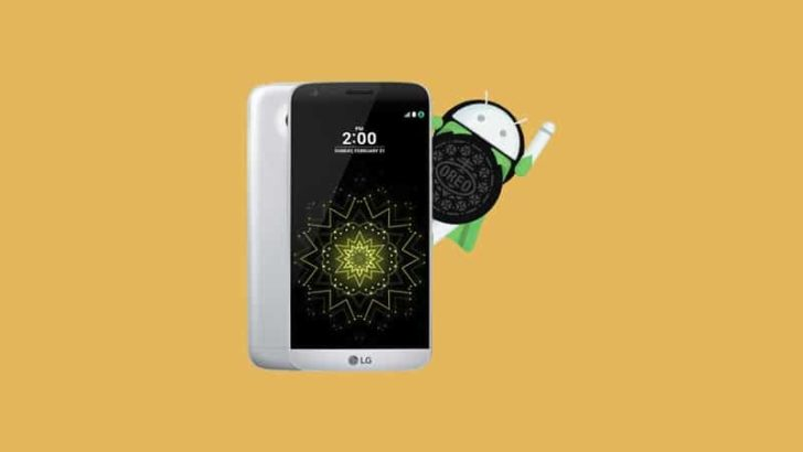 LG G5 Android 8.0 Oreo Update