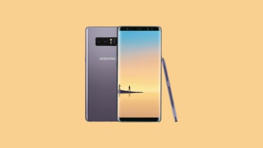 US Unlocked Galaxy Note 8 August 2018 Security Update
