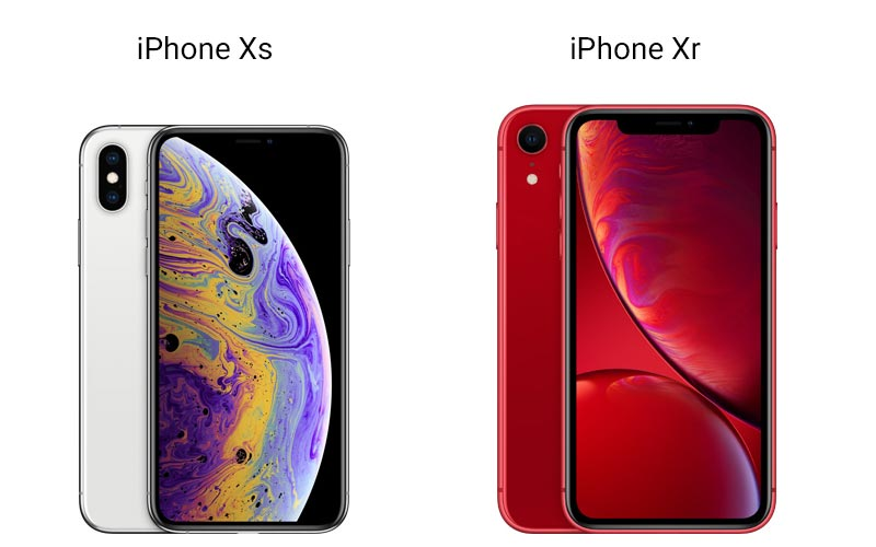 iPhone Xr and iPhone Xs Details