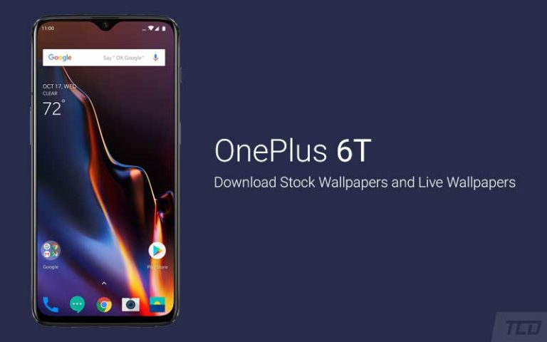 Download OnePlus 6T Stock Wallpapers and Live Wallpapers