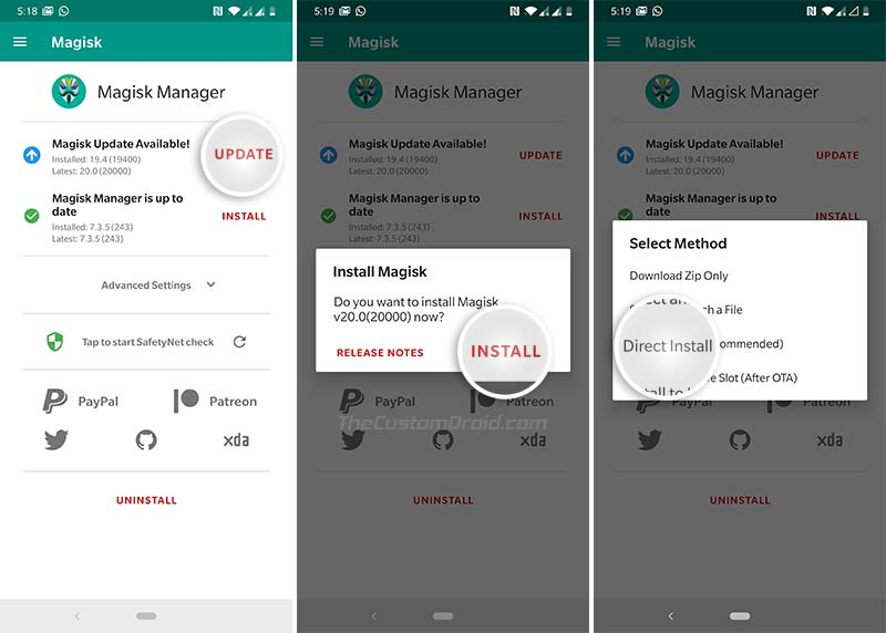 How to Update to Magisk 20.0 Stable