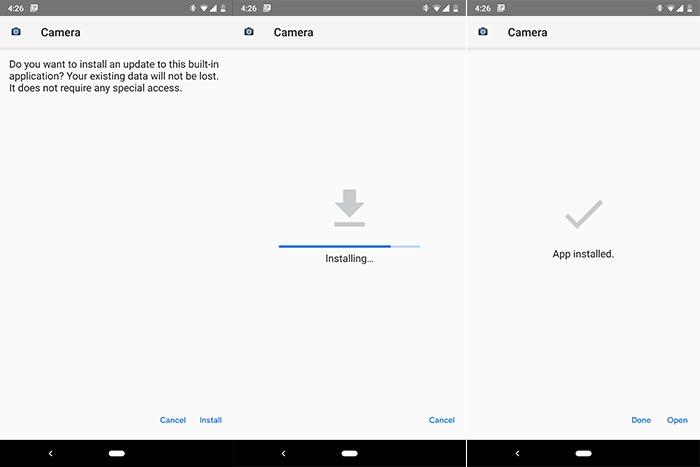Install Google Pixel 3 Camera App (APK)