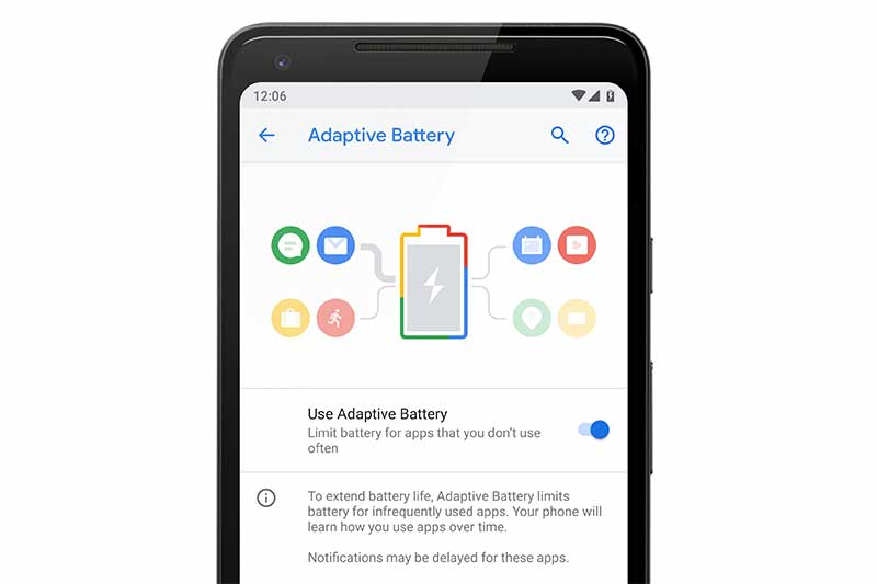 List of Android 9 Pie Ports - Android Pie Features - Adaptive Battery and Brightness