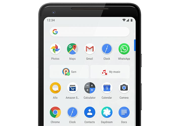 List of Android 9 Pie Ports - Android Pie Features - App Actions and Slices