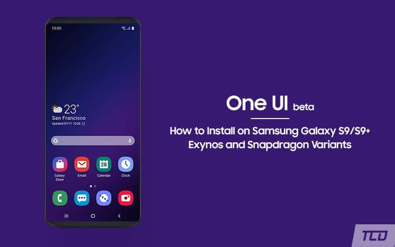 Install Android Pie-based One UI Beta on Samsung Galaxy S9/S9+