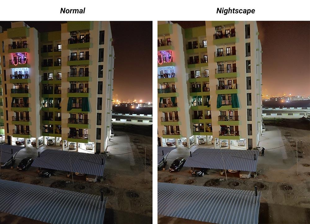 OnePlus 6T Camera - Normal VS Nightscape