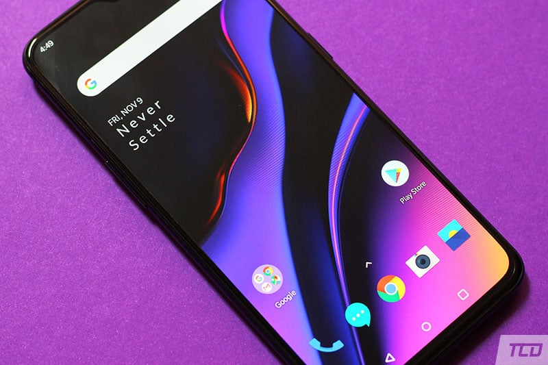 OnePlus 6T Display Colors