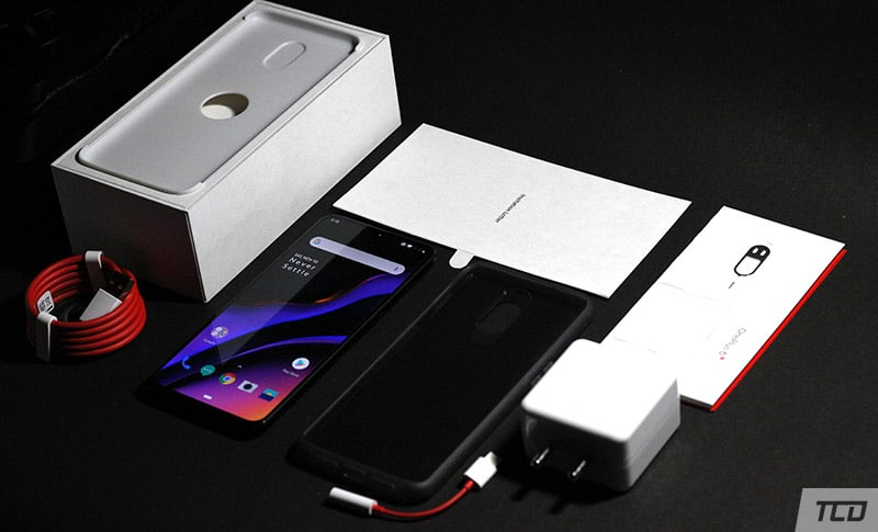 Unboxing the OnePlus 6T