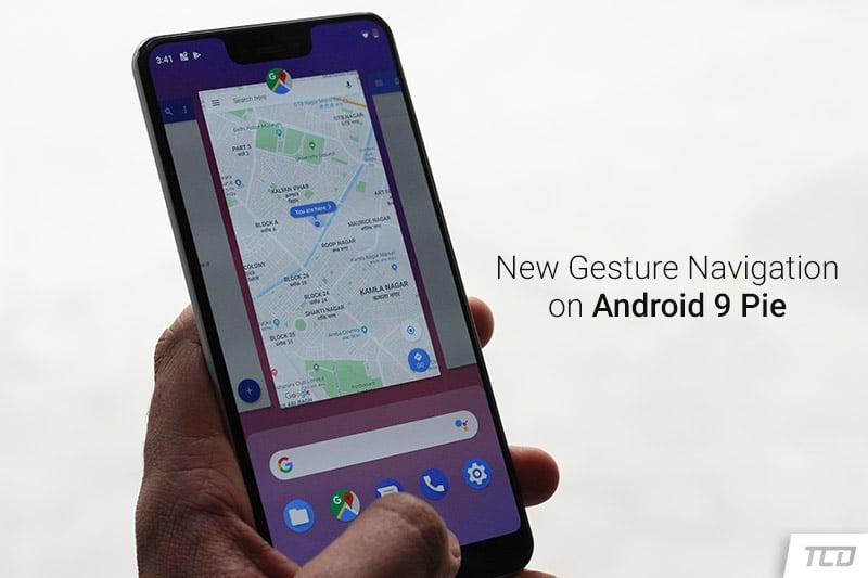 Google Pixel 3 XL Android 9 Pie - Gesture-based Navigation