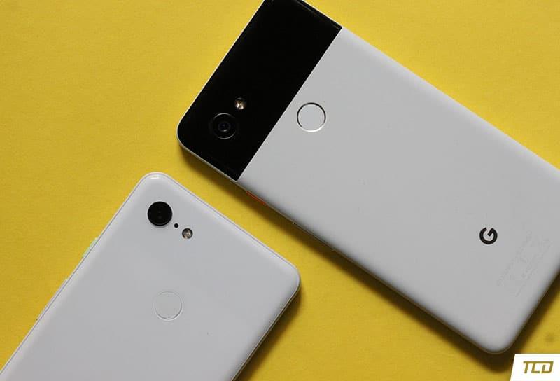 Google Pixel 3 XL and Pixel 2 XL Camera Lens