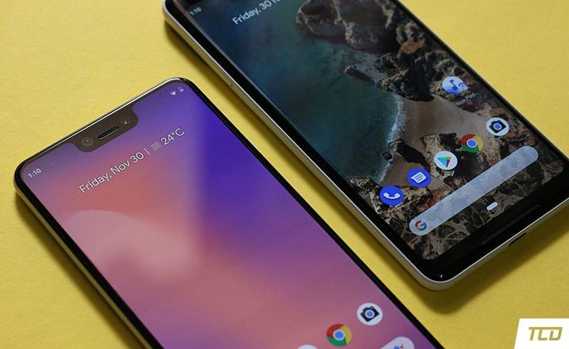 Google Pixel 3 XL Display vs Pixel 2 XL