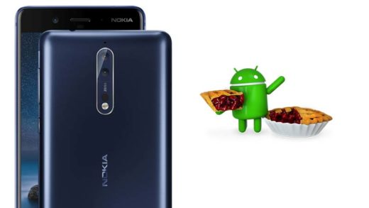 Android Pie update for Nokia 8 is now available