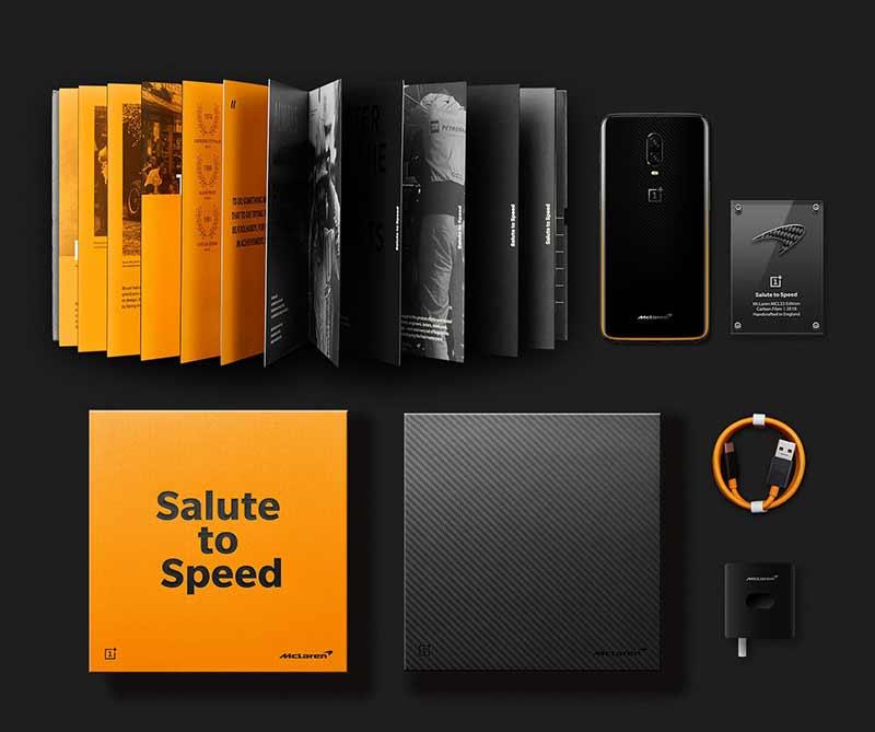 OnePlus 6T McLaren Edition - Что в коробке