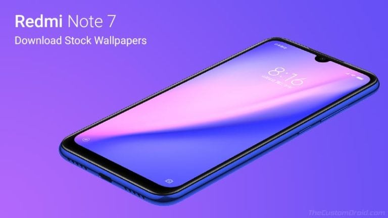Redmi Note 7 Stock Wallpapers